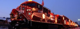 Canadian Pacific Rail Holiday Train Food Drive
