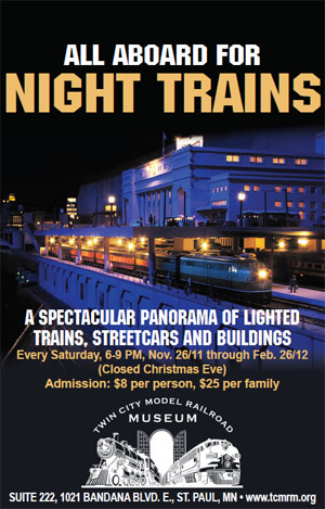 Night Trains Poster 2011-2012