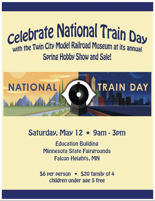National Train Day 2012 Flyer