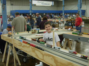 Venture Club Layout at the Railroad Show and Sale