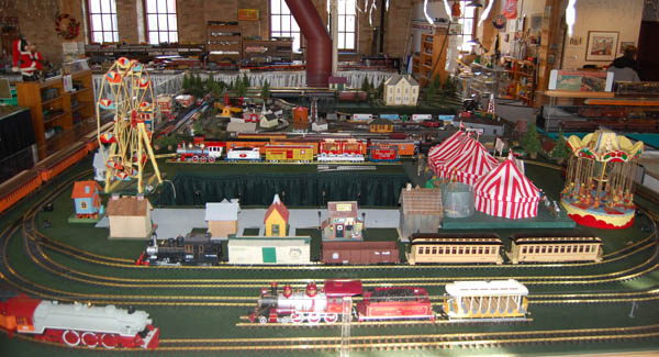 G Scale Layout