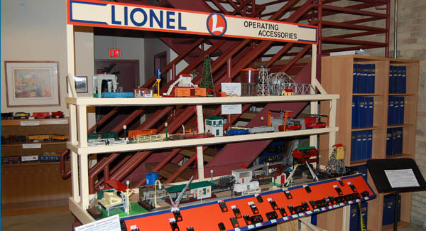 Lionel Operating Accessories Display
