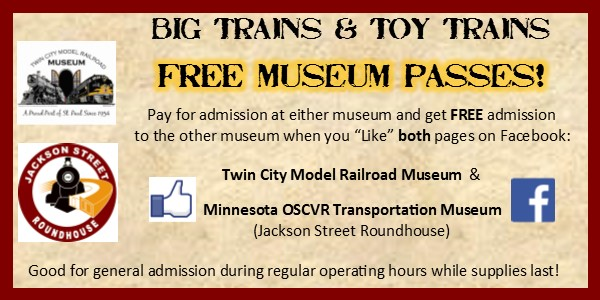 Big Trains & Toy Trains Passes